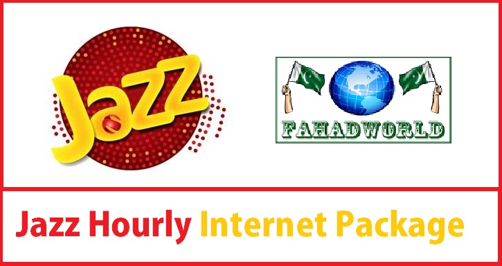 jazz hourly internet package