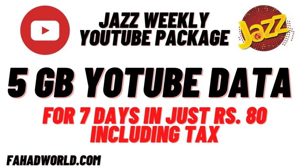 Jazz Weekly YouTube Package