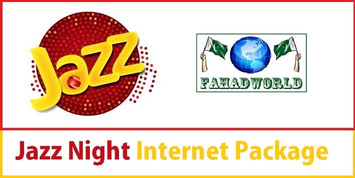 Jazz night internet package
