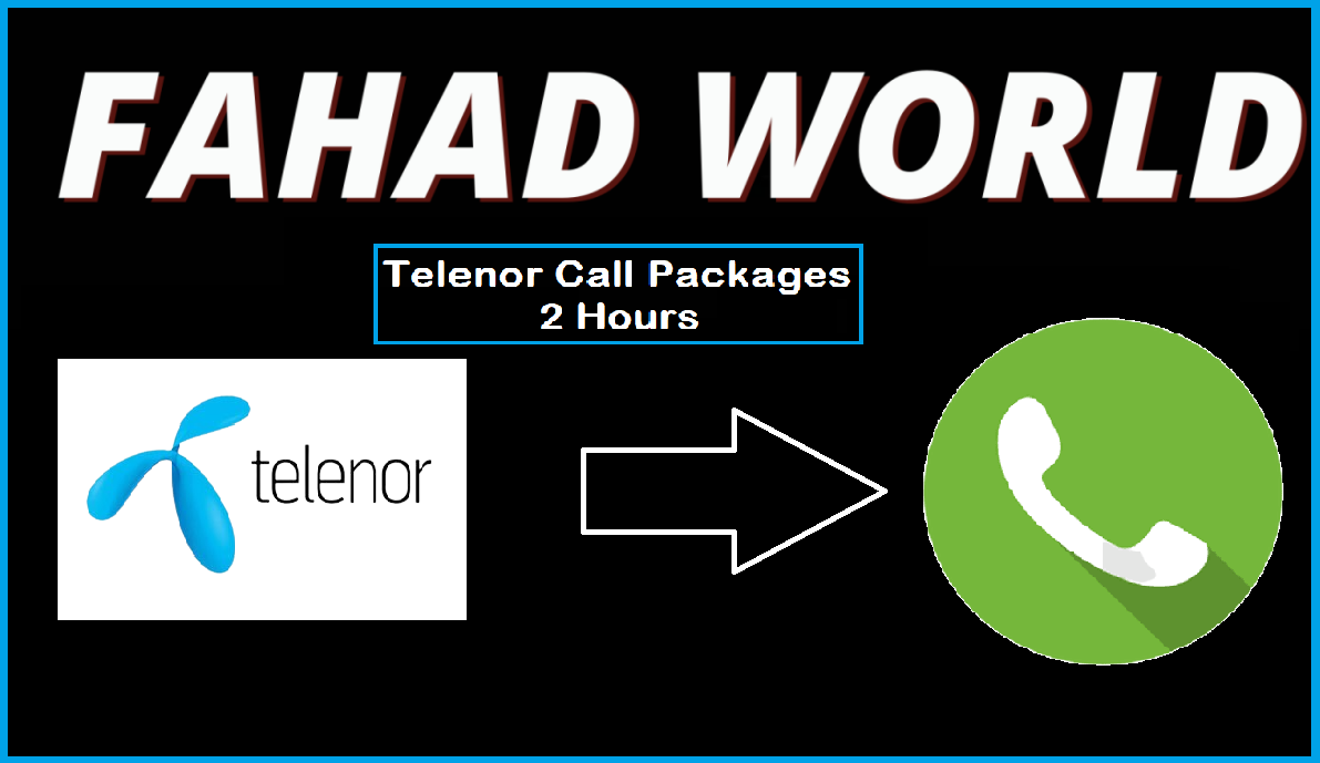 Telenor call packages 2 hours code