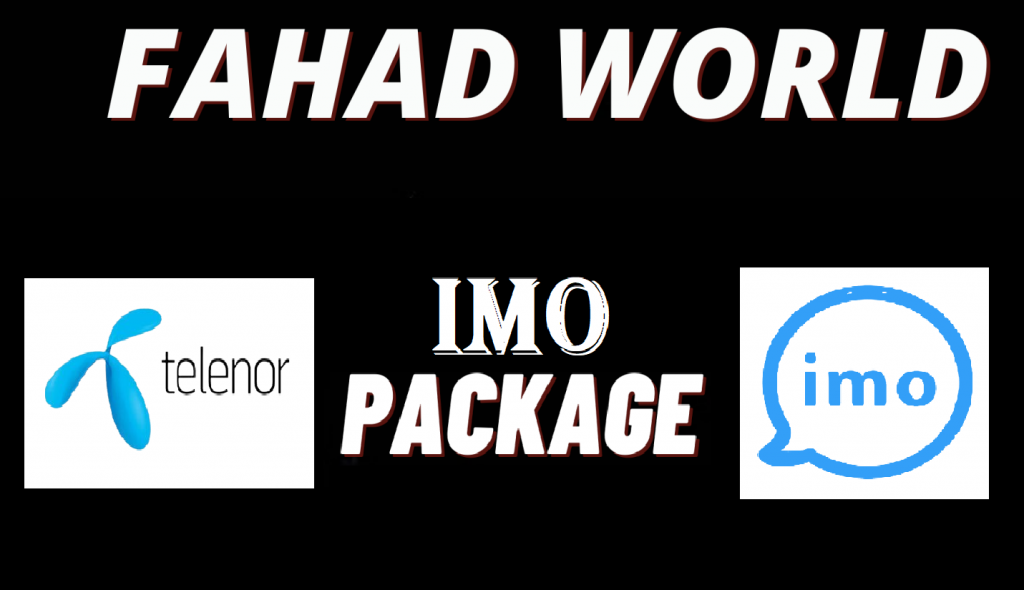 telenor imo package monthly