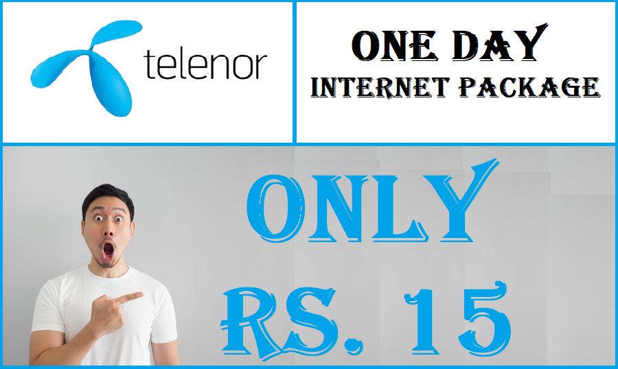telenor one day internet package