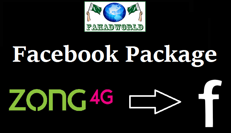 zong facebook package monthly