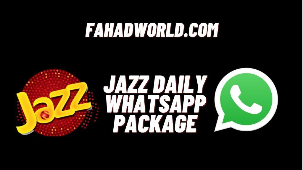 Jazz Daily WhatsApp Package