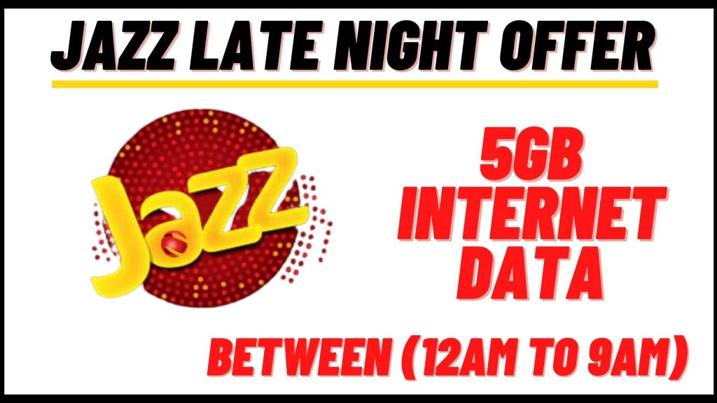jazz late night offer