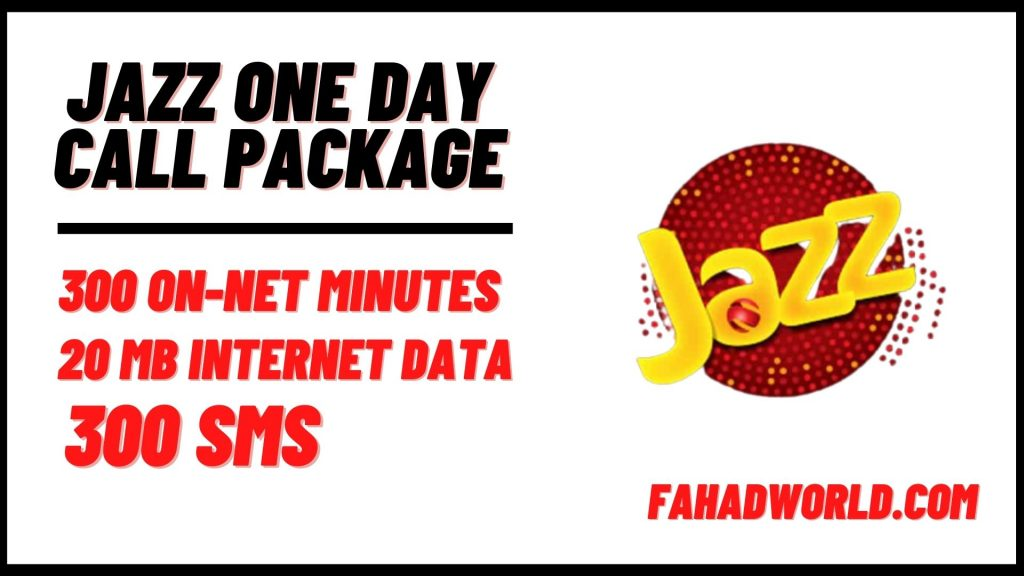 jazz one day call package