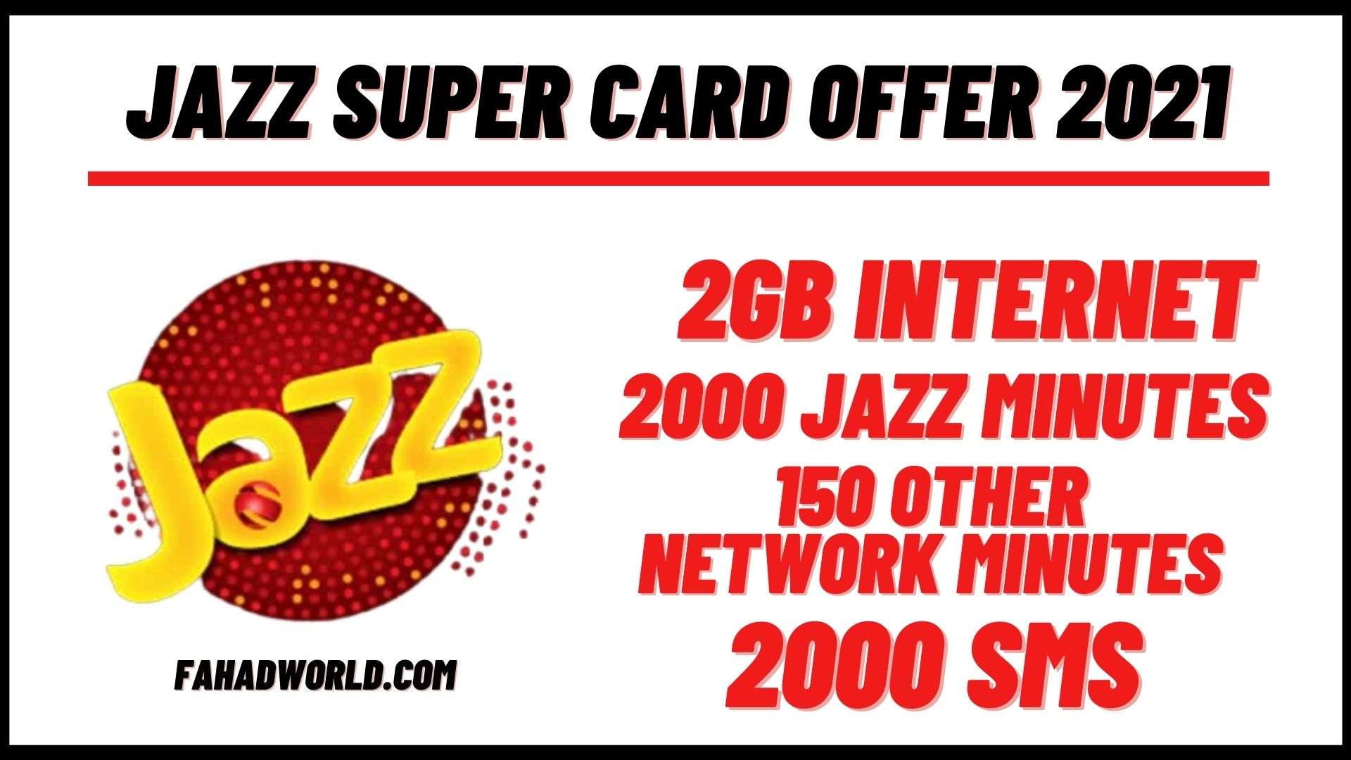 jazz super card offer