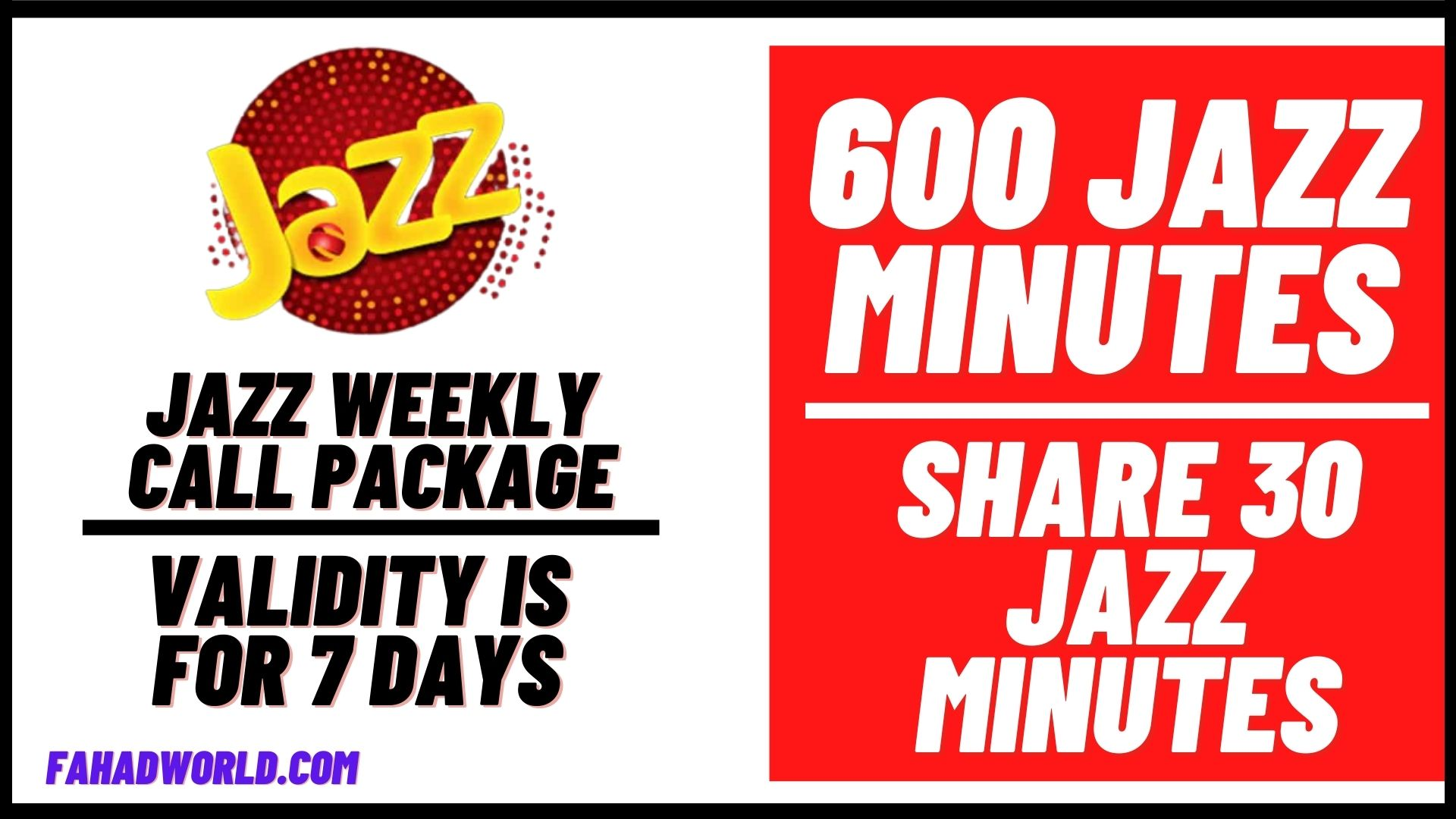 jazz weekly call package