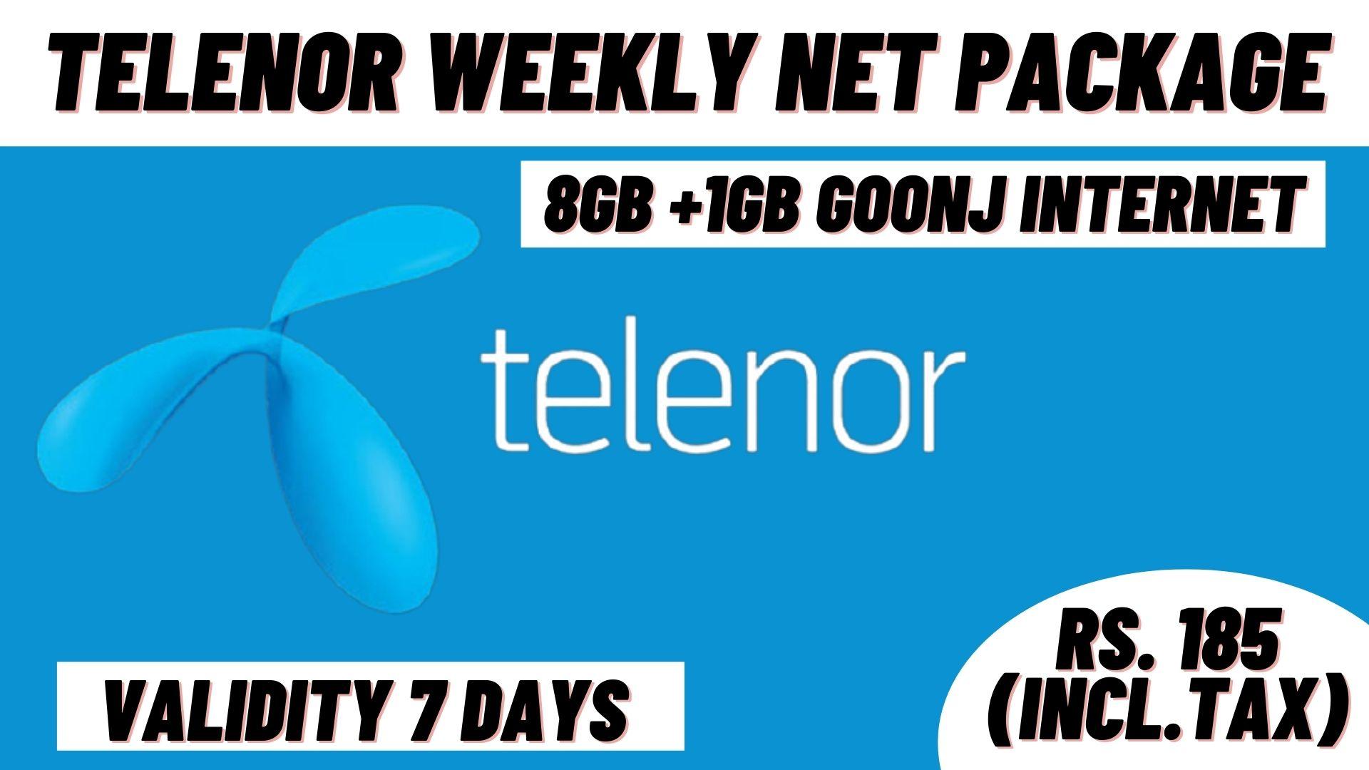 Telenor Weekly Net Package