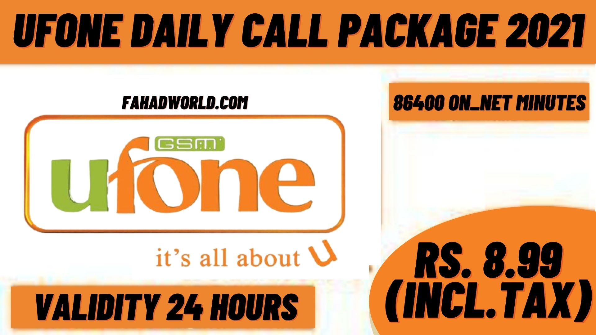 Ufone Daily Call Package