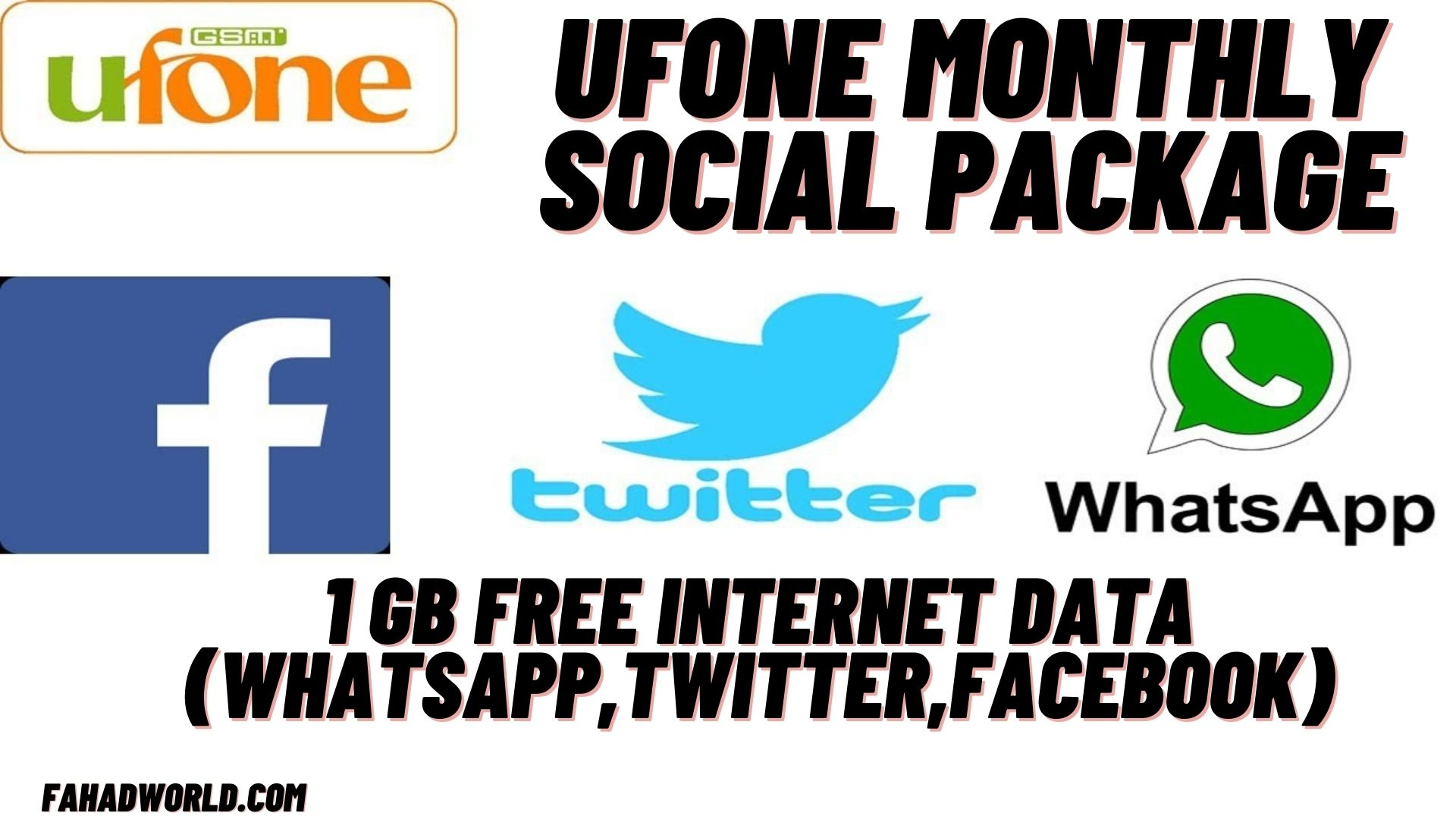 Ufone Monthly Social Package